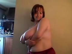 a redhead-big charming woman-mother id like to