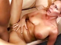 breasty blond momma receives her bald nookie