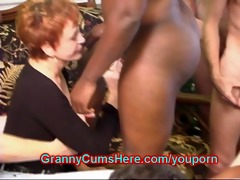 arse licking, cum sucking, swinger grannies