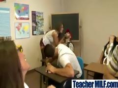 strumpets large tits teachers get drilled clip-11