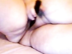 me big beautiful woman playing while hubby at work