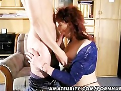 dilettante redhead mother i sucks and copulates a