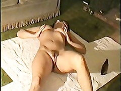 naked body oiled