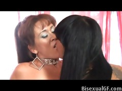two brunettes who can not wait to have sex