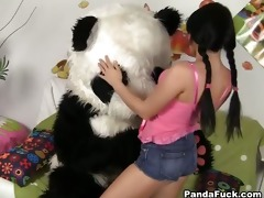 fantastic sweetheart has sex with cite panda
