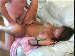 busty older ho bawdy cleft and titty screwed