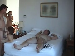 older swingers amateur group sex