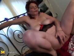 dilettante old mamma squirting
