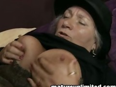 great aged woman getts assfuck