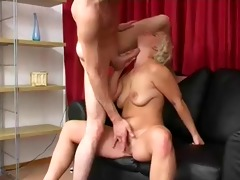 blond russian older pro fellatio
