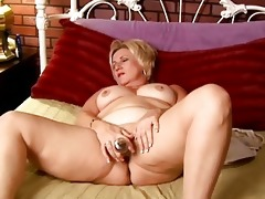 older non-professional with large tits