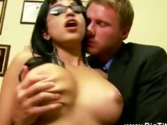 breasty lalin girl receives her wet crack licked