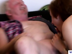euro older in nylons acquires rimjob