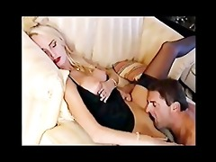 german lady fucking at home