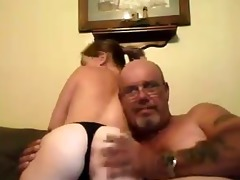 curvy angel rides old lad