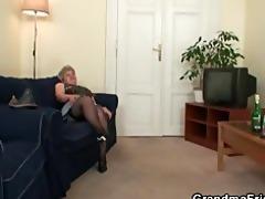 nasty granny takes dicks