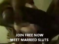 cheating wench wife engulfing large dark penis