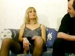 blond older cheats on her husband