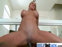 excited sluty breasty milf fucking dark shlong