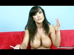 lisa ann talking and smoking
