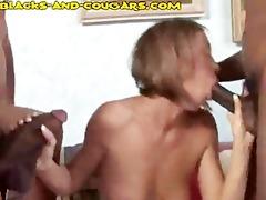 cougar sucks darksome bucks