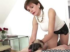 breasty aged tugjob bitch