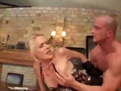 hardcore german blondie butt fucked