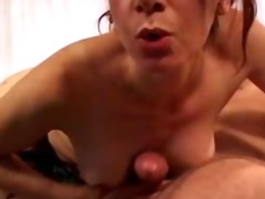 dark brown aged wench receives nailed