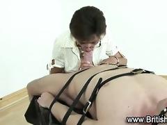 lady sonia ties up guy