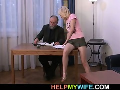his juvenile wife is craving for hard penis
