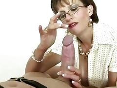 british older femdom-goddess is fond of gags