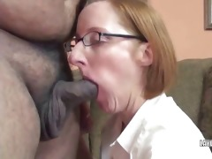 older layla in a short petticoat and engulfing a