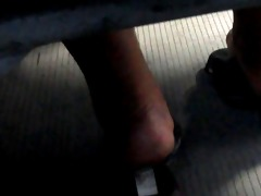 try footsie with d like to fuck in bus