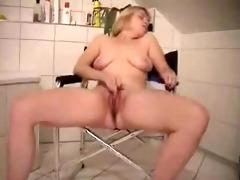 cute older wife masturbates in front of livecam