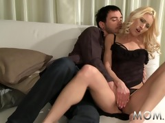 mommy gorgeous milfs brought to climax