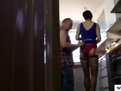 excited british mature d like to fuck in nylons