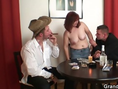undress poker leads to hard trio