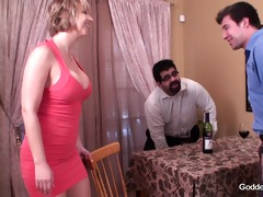 wife closes below table business deal