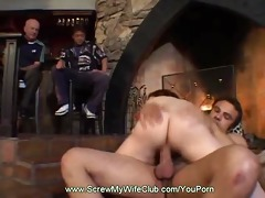 this hotwife swinger acquires fucked hard