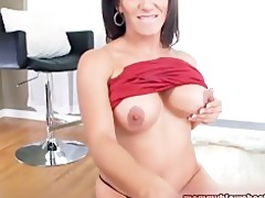 hot brunette d like to fuck with large pointer
