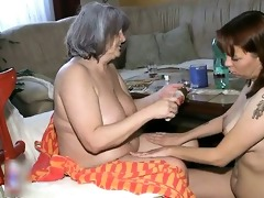nasty older bitch acquires horny