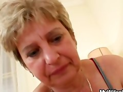 pecker hungry granny fucks her son in law