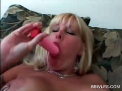 hawt lesbian scene with big beautiful woman