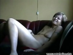 older mommy showing body and big o