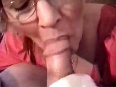 granny head #6 (smoking) cum for the teacher