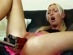 flexible blonde mother i gets double permeated by