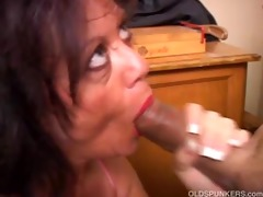 agreeable aged chick gives a oral-stimulation