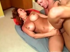 breasty mommy will take up with the tongue your