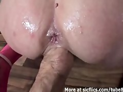 fisting and pissing on the lascivious wife