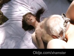 large dick grandad fucks nympho legal age